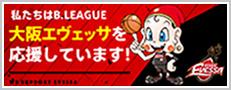 大阪エヴェッサを応援しています!