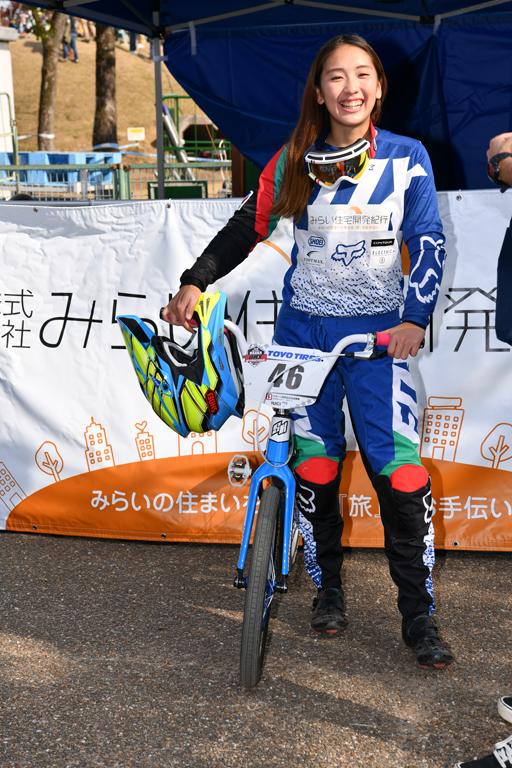 【朝比奈綾香】2019大阪BMX国際へ出場します