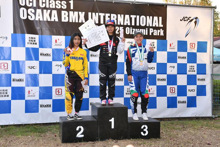 【朝比奈綾香】大阪BMX国際に出場し3位入賞を果たしました!