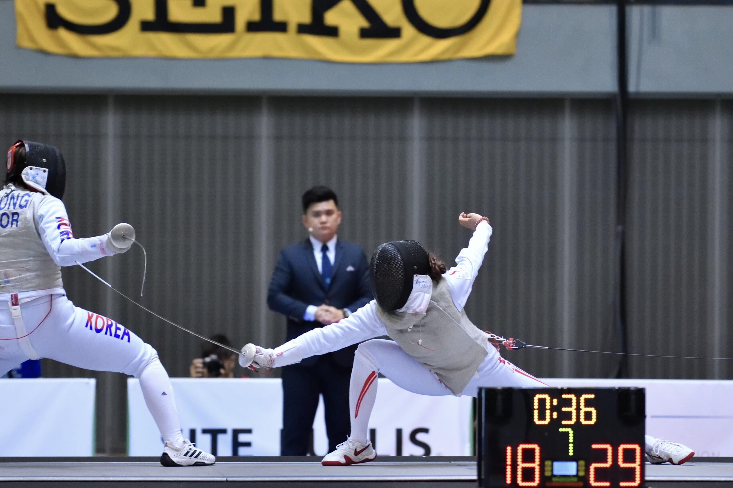 【東晟良】本日はフェンサー東晟良選手の22歳のお誕生日です